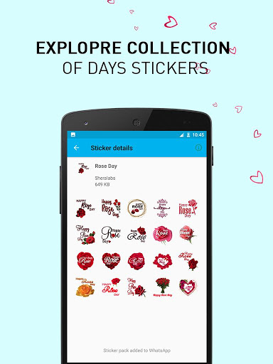 Valentine Days WASticker 1.0.2 screenshots 2