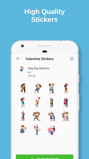 Valentine Love Feb Days Stickers for WhatsApp 1.1 screenshots 2