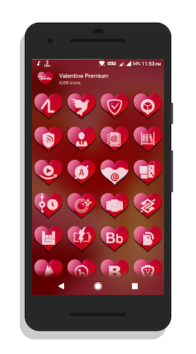 Valentine Premium – Icon Pack screenshots 2
