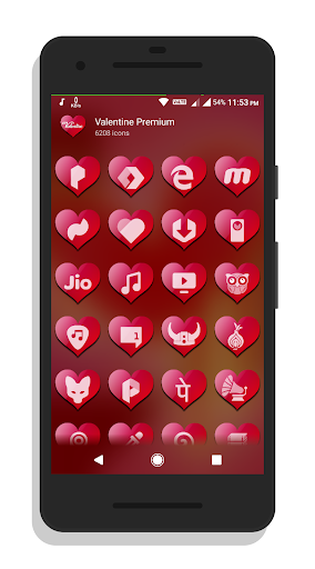 Valentine Premium – Icon Pack screenshots 3