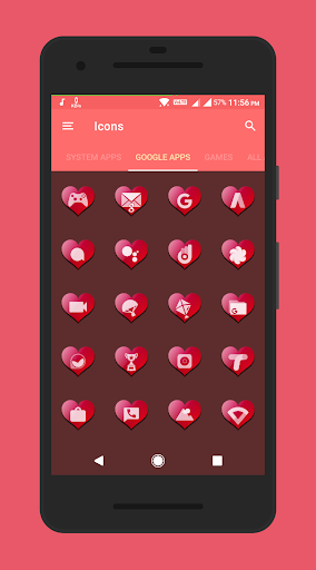 Valentine Premium – Icon Pack screenshots 5