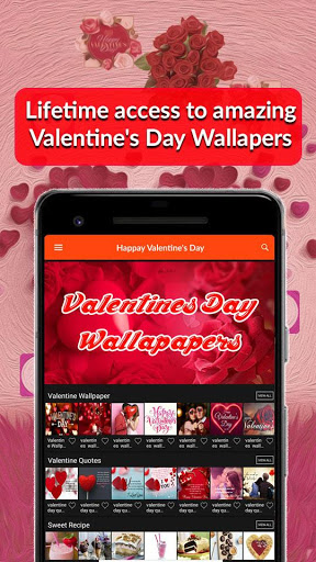 Valentines Day 2019 Wallpaper Quotes Songs Recipes 1.0 screenshots 1