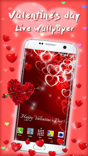 Valentines Day Live Wallpaper Love Background 2.6 screenshots 1