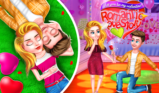 Will you be my valentine Romantic Love Crush 1.0.7 screenshots 1