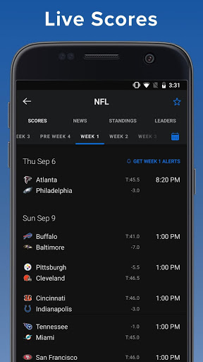 theScore Live Sports Scores News Stats amp Videos 19.3.1 screenshots 1