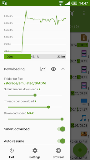 Advanced Download Manager Pro screenshots 2