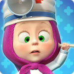 Download Full Masha and the Bear: Free Animal Games for Kids 3.5.11 MOD APK Unlimited Cash