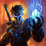 Download Heroes Infinity: Blade & Knight Online Offline RPG 1.24.4 MOD APK Unlimited Money