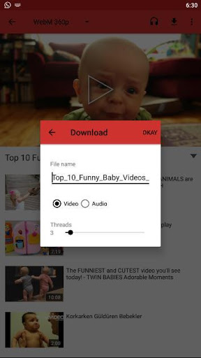 Full Movie Video Player 1.0 screenshots 1