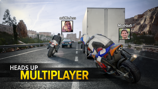 Highway Rider Motorcycle Racer 2.1.4 screenshots 1