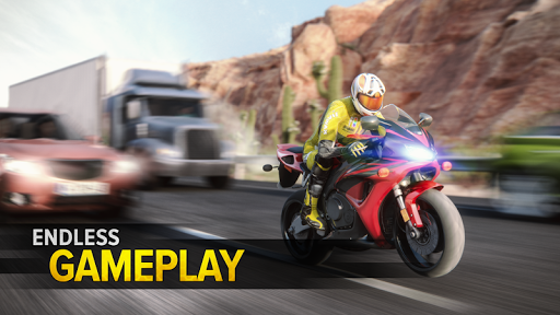 Highway Rider Motorcycle Racer 2.1.4 screenshots 2