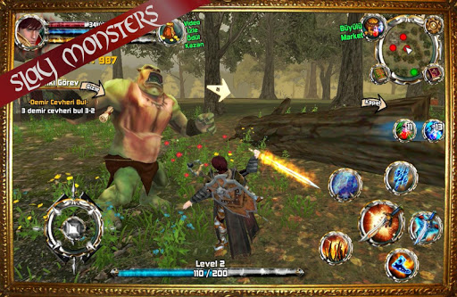 Kingdom Quest Crimson Warden 3D RPG 1.22 screenshots 2