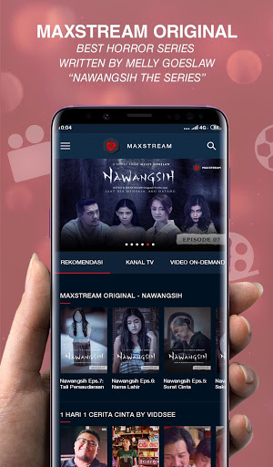 MAXstream – Stream Live Sports TV Shows amp Movies 1.3.0 screenshots 1