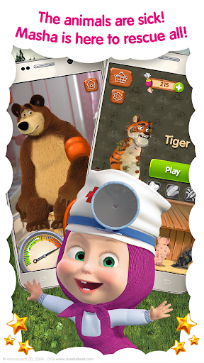 Masha and the Bear Free Animal Games for Kids 3.5.11 screenshots 2