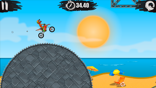 Moto X3M Bike Race Game 1.9.14 screenshots 1