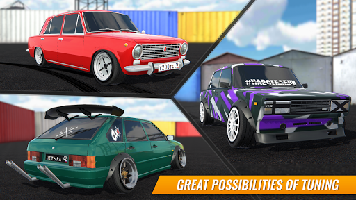 Russian Car Drift 1.6.1 screenshots 2