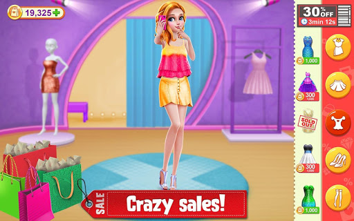 Shopping Mania – Black Friday Fashion Mall Game 1.0.4 screenshots 1