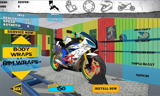 Stunt Bike Freestyle 2.9.4 screenshots 2