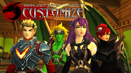 AdventureQuest 3D MMO RPG 1.19.11 screenshots 2