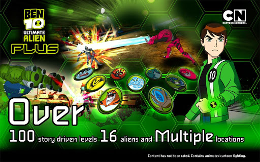 Ben 10 Xenodrome Plus 1.1.1 screenshots 1