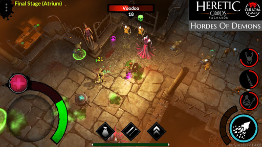HERETIC GODS v.1.08.21 screenshots 1