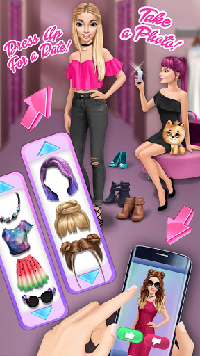 Hannahs College Crush – First Date amp Makeover 7.0.16 screenshots 2