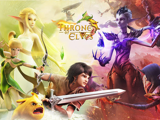 Throne of Elves 3D Anime Action MMORPG 2.18.10 screenshots 1