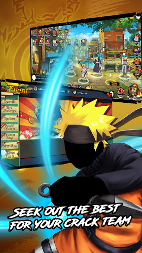 Ultimate NinjaFirst ninja war 1.0.2 screenshots 1