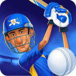 Download Full Stick Cricket Super League 1.5.7 APK MOD Unlimited Cash