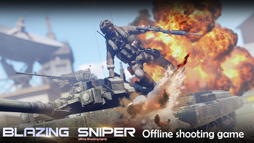 Blazing Sniper – offline shooting game 1.8.0 screenshots 1