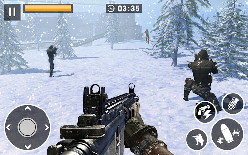 Call for War – Winter survival Snipers Battle WW2 2.6 screenshots 1