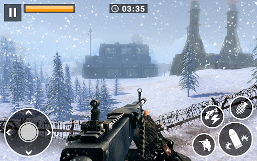 Call for War – Winter survival Snipers Battle WW2 2.6 screenshots 2