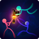 Download Full Stickfight Infinity 1.14 APK MOD Unlimited Money