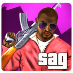 Download San Andreas American Gangster 3D 1.7 APK MOD Full Unlimited