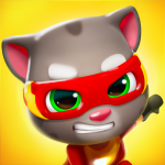 Download Talking Tom Hero Dash 1.0.16.517 APK MOD Unlimited Cash