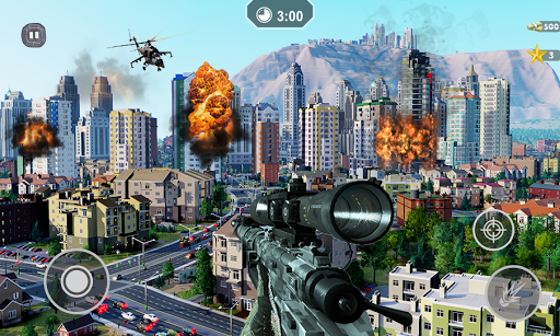 FPS Sniper 3D Gun Shooter – MMORPG Shooting Games 2.5 screenshots 2
