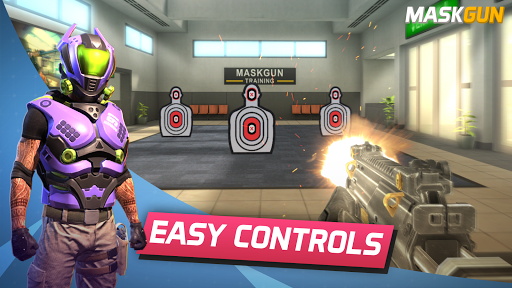 MaskGun Multiplayer FPS – Free Shooting Game 2.330 screenshots 1