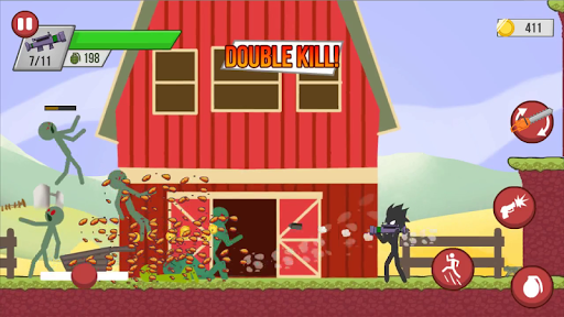 Stickman Zombie Shooter – Epic Stickman Games 1.3.0 screenshots 1