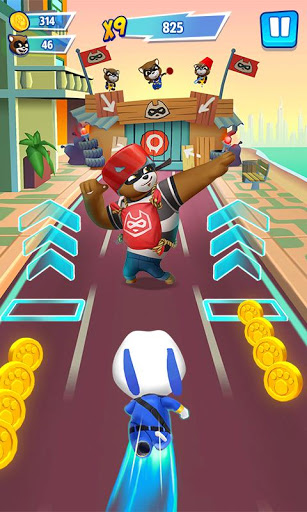 Talking Tom Hero Dash 1.0.16.517 screenshots 2