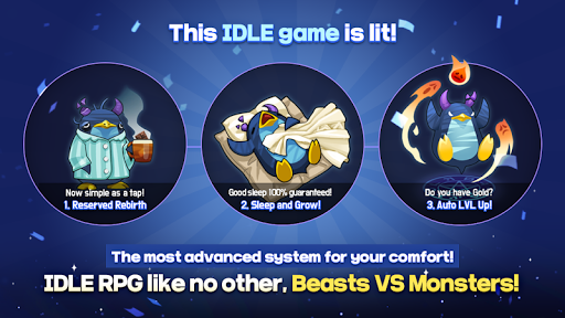 BEASTS VS MONSTERS – Idle RPG 2.21 screenshots 1
