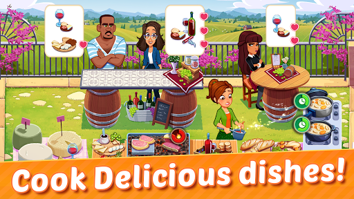 Delicious World A New Cooking Game 1.2.2 screenshots 2