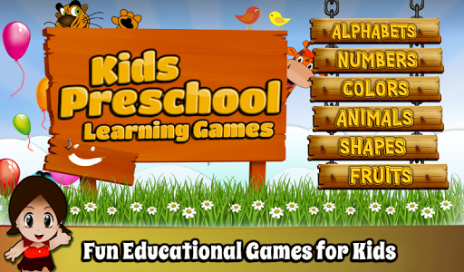 Kids Preschool Learning Games 2.0 screenshots 1