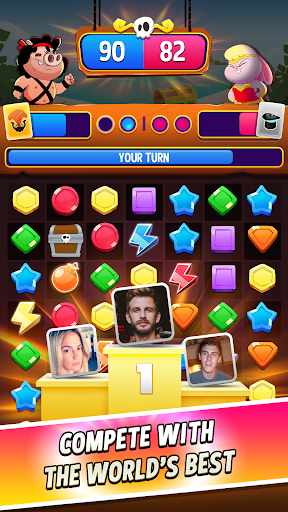 Match Masters – PVP Match 3 Puzzle Game 2.516 screenshots 1
