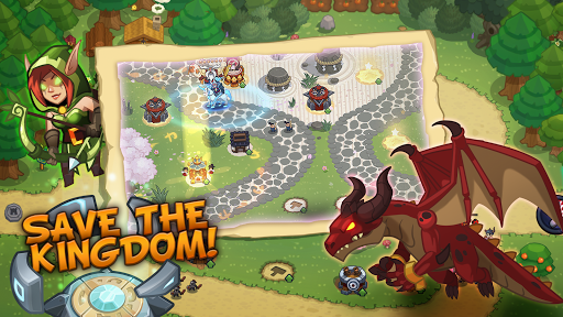 Realm Defense Epic Tower Defense Strategy Game 2.2.7 screenshots 1