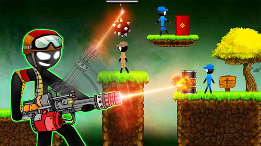 Stickman vs Stickmen Games Shotgun Shooting 1.8 screenshots 1
