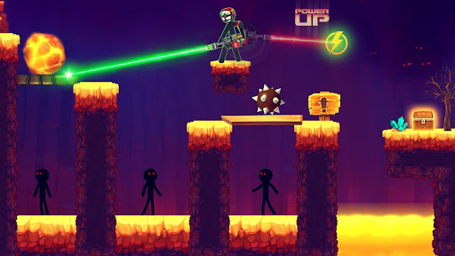 Stickman vs Stickmen Games Shotgun Shooting 1.8 screenshots 2