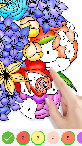 Tap Color Color By Number Game amp Coloring Book 2.0.2 screenshots 1