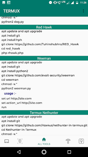 Commands and Tools for Termux 8.0 screenshots 2