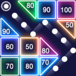 Download Bricks Breaker – Glow Balls 1.7.167 MOD APK Unlimited Money
