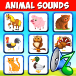 Download Animal sounds for babies. Learning animals free 3.9 MOD APK Full Unlimited